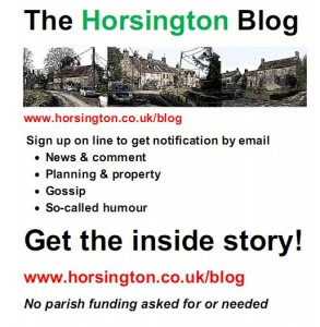 Horsington Blog