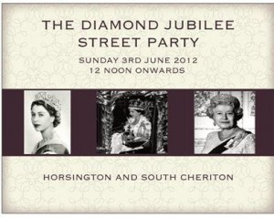 Horsington Village Jubilee Street Party