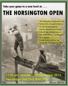 Horsington Open Golf Tournament
