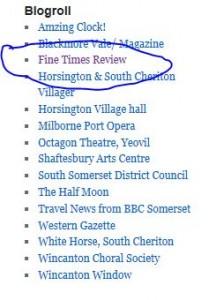 Horsington Blog links