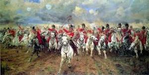 The Royal Scots Greys, 2nd Dragoons go into battle at Waterloo
